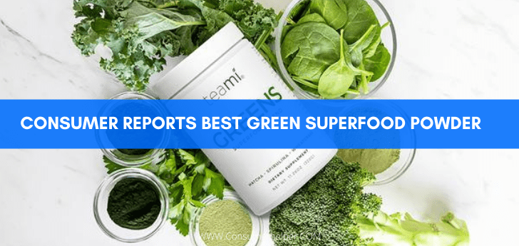 Consumer Reports Best Green Superfood Powder